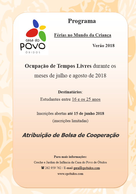 cartaz 2018
